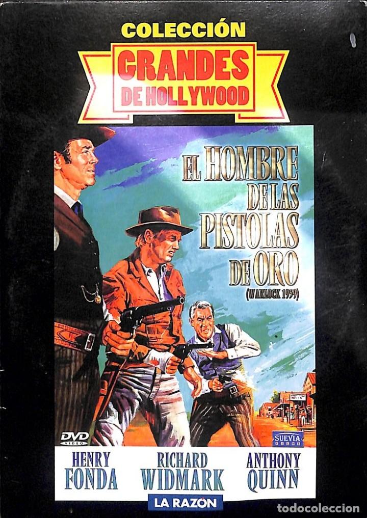 DVD EL HOMBRE DE LAS PISTOLAS DE ORO (Cine - Películas - DVD)