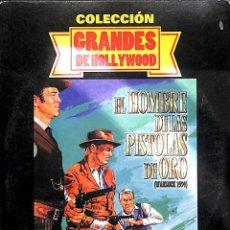 Cine: DVD EL HOMBRE DE LAS PISTOLAS DE ORO. Lote 172425643