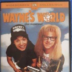 Cine: DVD WAYNE'S WORLD. Lote 172474947