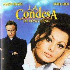 Cine: LA CONDESA DE HONG KONG MARLON BRANDO & SOPHIA LOREN . Lote 172476214