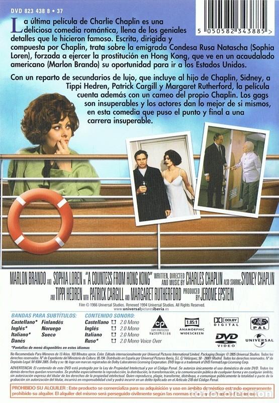 Cine: LA CONDESA DE HONG KONG MARLON BRANDO & SOPHIA LOREN - Foto 2 - 172476214