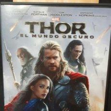 Cine: THOR EL MUNDO OSCURO - DVD - ORIGINAL - CHRIS HEMSWORTH - NATALIE PORTMAN - NO CORREOS. Lote 172577998