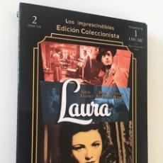 Cine: LAURA. EDICIÓN COLECCIONISTA 2 DVD (GENE TIERNEY, DANA ANDREWS, CLIFTON WEBB). Lote 172595677