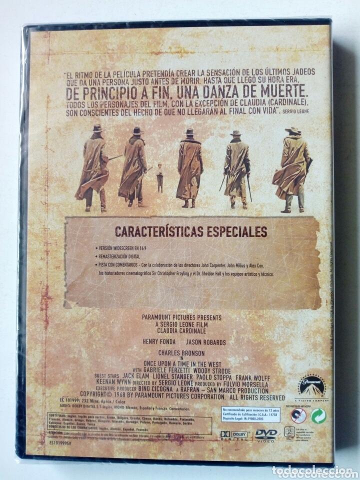 Cine: DVD - HASTA QUE LLEGO SU HORA (Sergio Leone) - Claudia Cardinale, Henry Fonda, Jason Robards - - Foto 2 - 172680363