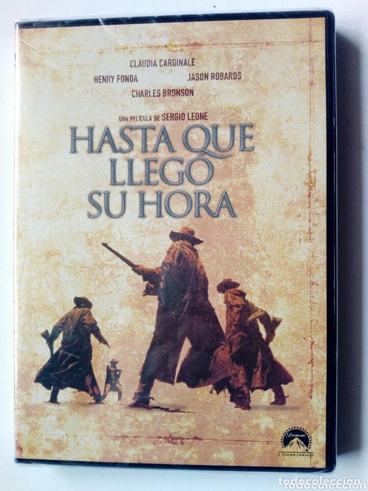 DVD - HASTA QUE LLEGO SU HORA (SERGIO LEONE) - CLAUDIA CARDINALE, HENRY FONDA, JASON ROBARDS - (Cine - Películas - DVD)