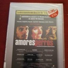 Cine: AMORES PERROS (ALEJANDRO GONZÁLEZ IÑÁRRITU) DVD PRECINTADO. Lote 172837434