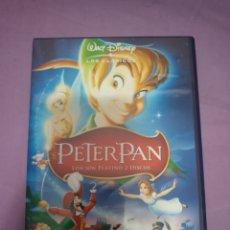 Cine: DVD. PETER PAN. ED. PLATINO 2 DVDS. CLÁSICO DISNEY.. Lote 172854054