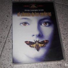 Cine: EL SILENCIO DE LOS CORDEROS DVD THRILLER 90S. Lote 172860853