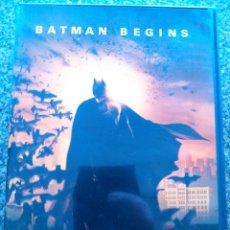 Cine: DVD -- BATMAN BEGINS -- . Lote 172933173