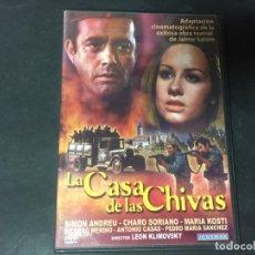 Cine: DVD LA CASA DE LAS CHIVAS LEÓN KLIMOVSKY JOSÉ LUIS GARCI CARLOS PUMARES SIMÓN ANDREU MARÍA KOSTY . Lote 172995435
