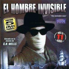 Cine: EL HOMBRE INVISIBLE (THE INVISIBLE MAN). SERIE TV COMPLETA. 5 DVD. SUEVIA FILMS. Lote 173017830