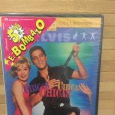 Cine: CHICAS CHICAS CHICAS ( ELVIS PRESLEY ) DVD- PRECINTADO -. Lote 173151530