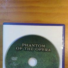 Cine: EL FANTASMA DE LA ÓPERA (PHANTOM (FANTASMA) OF THE OPERA) (1943) - DVD ORIGINAL DESCATALOGADO. Lote 173186755