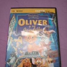 Cine: DVD. OLIVER Y SU PANDILLA. CLÁSICO DISNEY.. Lote 173188527