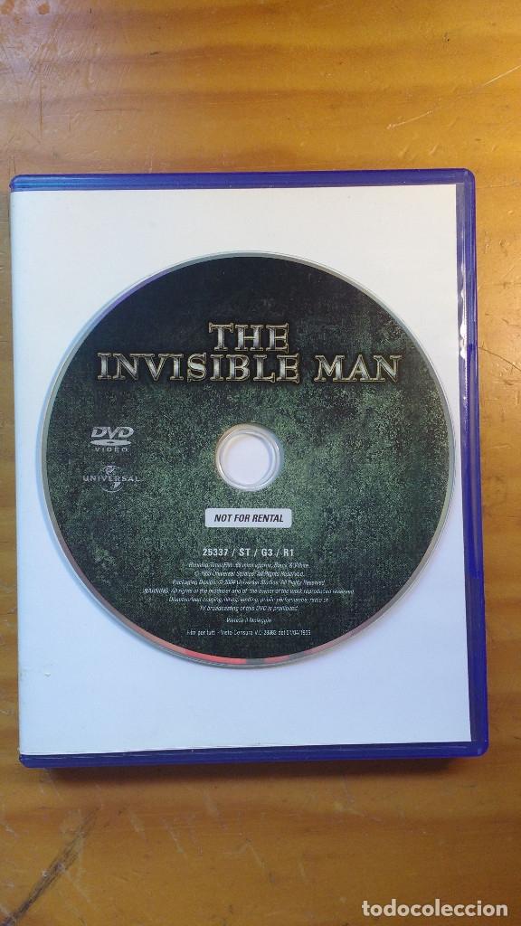 EL HOMBRE INVISIBLE (THE INVISIBLE MAN) (1933) - DVD ORIGINAL DESCATALOGADO (Cine - Películas - DVD)