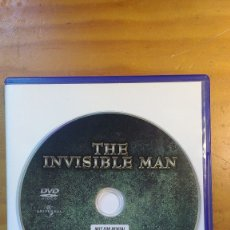 Cine: EL HOMBRE INVISIBLE (THE INVISIBLE MAN) (1933) - DVD ORIGINAL DESCATALOGADO. Lote 173191009
