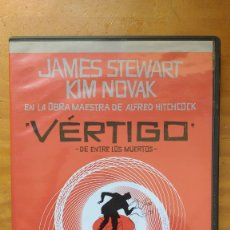 Cine: VÉRTIGO (DE ENTRE LOS MUERTOS) (VERTIGO - 1958) - DVD EDICIÓN 50 ANIVERSARIO - 2 DISCOS - SIN USO. Lote 173369292