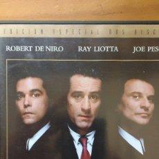 Cine: UNO DE LOS NUESTROS (GOODFELLAS - 1990) - DVD EDICIÓN ESPECIAL 2 DISCOS - SIN USO. Lote 173369609
