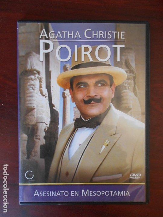 DVD AGATHA CHRISTIE - POIROT - ASESINATO EN MESOPOTOMIA - CAJA SLIM (Y3) (Cine - Películas - DVD)