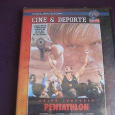 Cine: PENTATHLON DVD PRECINTADO - DOLPH LUNDGREN - COLECCION CINE Y DEPORTE . Lote 173444495