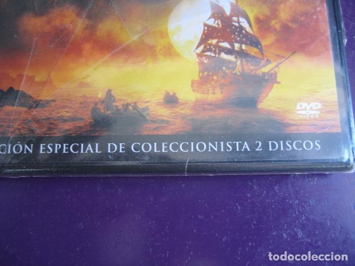 Cine: PIRATAS DEL CARIBE - MALDICION PERLA NEGRA EDICION COLECCIONISTA 2 DISCOS - DVD PRECINTADO - J DEPP - Foto 2 - 173445530