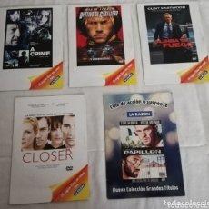 Cine: LOTE PELICULAS DVDS. Lote 173453869