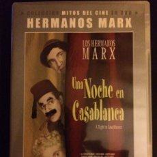 Cine: UNA NOCHE EN CASABLANCA HERMANOS MARX. Lote 172293384
