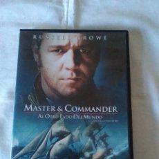 Cine: 5-MASTER AND COMMANDER, AL OTRO LADO DEL MUNDO, RUSSELL CROWE. Lote 173479794