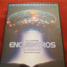 Cine: ENCUENTROS EN LA TERCERA FASE. NO ESTAMOS SOLOS (UNA PELÍCULA DE STEVEN SPIELBERG) 2 DVD. Lote 173498359