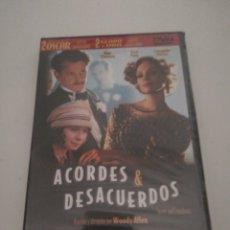 Cine: ACORDES Y DESACUERDOS DVD NUEVO. Lote 173499522