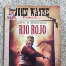 Cine: RIO ROJO DVD DE HOWARD HAWKS CON JOHN WAYNE. Lote 173558053