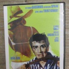 Cine: DVD - LA ESCAPADA - VITTORIO GASSMAN - PEDIDO MINIMO 4 PELICULAS 0 10€. Lote 173581297