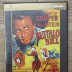 Cine: DVD - BUFFALO BILL - GARY COOPER- PEDIDO MINIMO 4 PELICULAS 0 10€. Lote 173582162