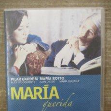 Cine: DVD - MARIA QUERIDA - PILAR BARDEM - PEDIDO MINIMO 4 PELICULAS 0 10€. Lote 173587777