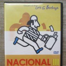 Cine: DVD - NACIONAL III - BERLANGA - PEDIDO MINIMO 4 PELICULAS 0 10€. Lote 173588164
