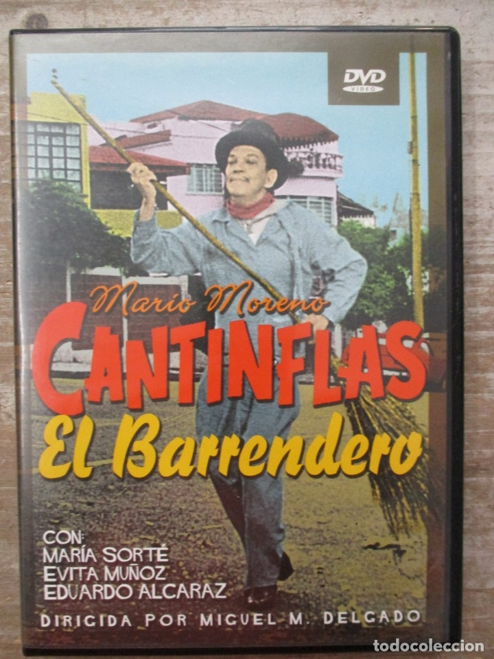 DVD - CANTINFLAS EL BARRENDERO - PEDIDO MINIMO 4 PELICULAS 0 10€ (Cine - Películas - DVD)