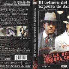 Cine: EL CRIMEN DEL EXPRESO DE ANDALUCÍA - IMANOL URIBE - LA HUELLA DEL CRIMEN. Lote 173605662