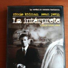 Cine: DVD SPEAK UP - LA INTÉRPRETE. Lote 173624758