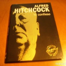 Cine: YO CONFIESO / ALFRED HITCHCOCK / GOLD EDITION DVD + LIBRO. Lote 173646703