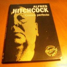 Cine: CRIMEN PERFECTO / ALFRED HITCHCOCK / GOLD EDITION DVD + LIBRO. Lote 173646964