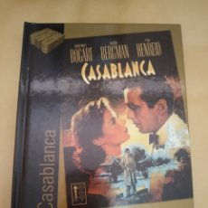 Cine: DVD. CASABLANCA. DVD + LIBRO DE 60 PÁGINAS.. Lote 173795189