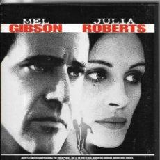 Cine: == D236 - CONSPIRACION - MEL GIBSON / JULIA ROBERTS. Lote 173804704