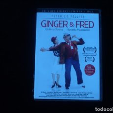 Cine: GINGER Y FRED EDICION COLECCIONISTA 3 DVD - DVD COMO NUEVOS. Lote 173812974