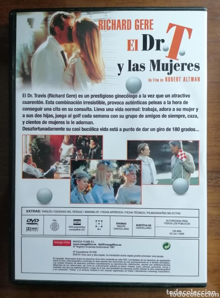 Cine: EL DR. T. Y LAS MUJERES. DVD. RICHARD GERE. HELEN HUNT. ROBERT ALTMAN - Foto 2 - 173819343