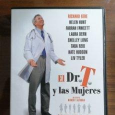 Cine: EL DR. T. Y LAS MUJERES. DVD. RICHARD GERE. HELEN HUNT. ROBERT ALTMAN. Lote 173819343