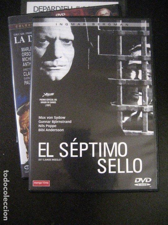 DVD EL SÉPTIMO SELLO (1957) DE INGMAR BERGMAN. CON MAX VON SYDOW. (Cine - Películas - DVD)