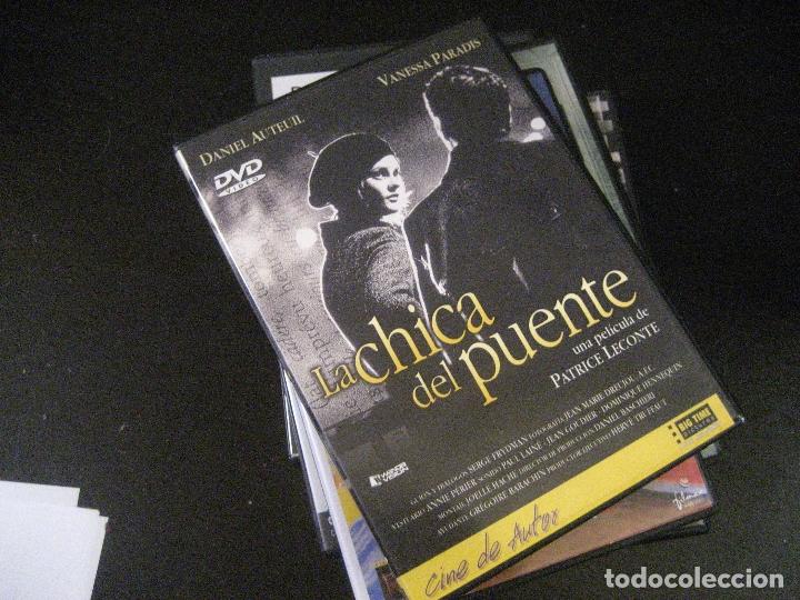 LA CHICA DEL PUENTE (PATRICE LACONTE) UNA HISTORIA DE SOLEDADES QUE SE ENCUENTRAN. MUERTE Y AMOR (Cine - Películas - DVD)