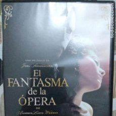 Cine: EL FANTASMA DE LA OPERA, DVD. Lote 173849188