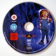 Cine: MUÑECO DIABÓLICO • DVD (SÓLO DISCO, SIN CARÁTULA).. Lote 173931834