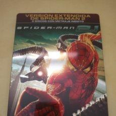 Cine: DVD. SPIDERMAN 2.1. CAJA METÁLICA. 2 DVDS. EDICIÓN DESCATALOGADA.. Lote 173991910